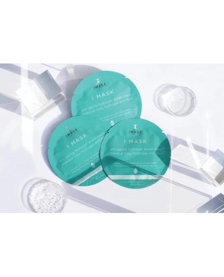 I MASK anti-aging hydrogel sheet mask (5 pack)  5 masks 0.6oz (17g x 5)