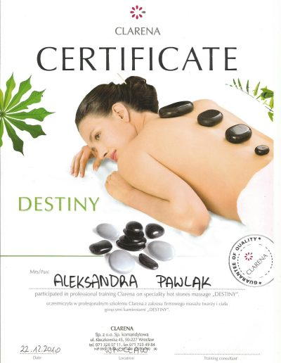 6 hot stone massage