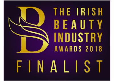 Finalist  Irish Beauty Industry Awards 2018